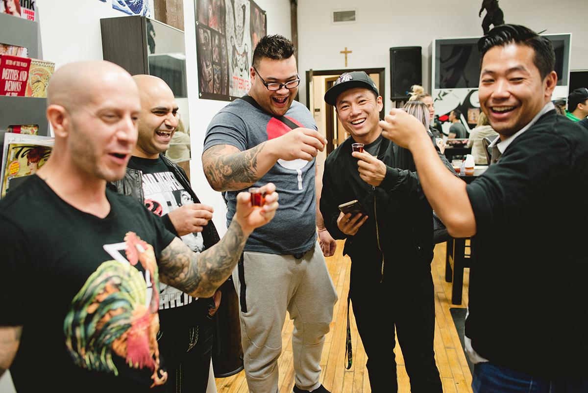 24 Kai 7th Samurai tattoos & Hennessy Scott Campbell pop up event.jpg