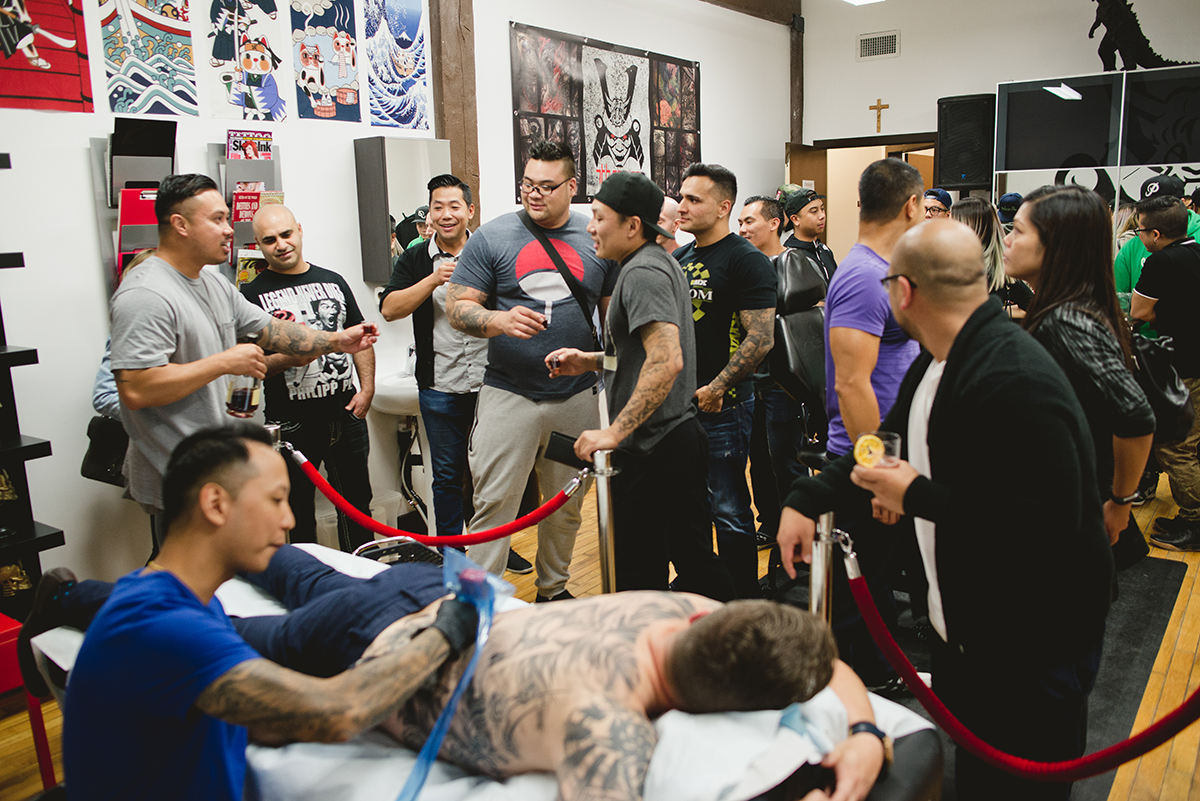 37 Kai 7th Samurai tattoos & Hennessy Scott Campbell pop up event.jpg