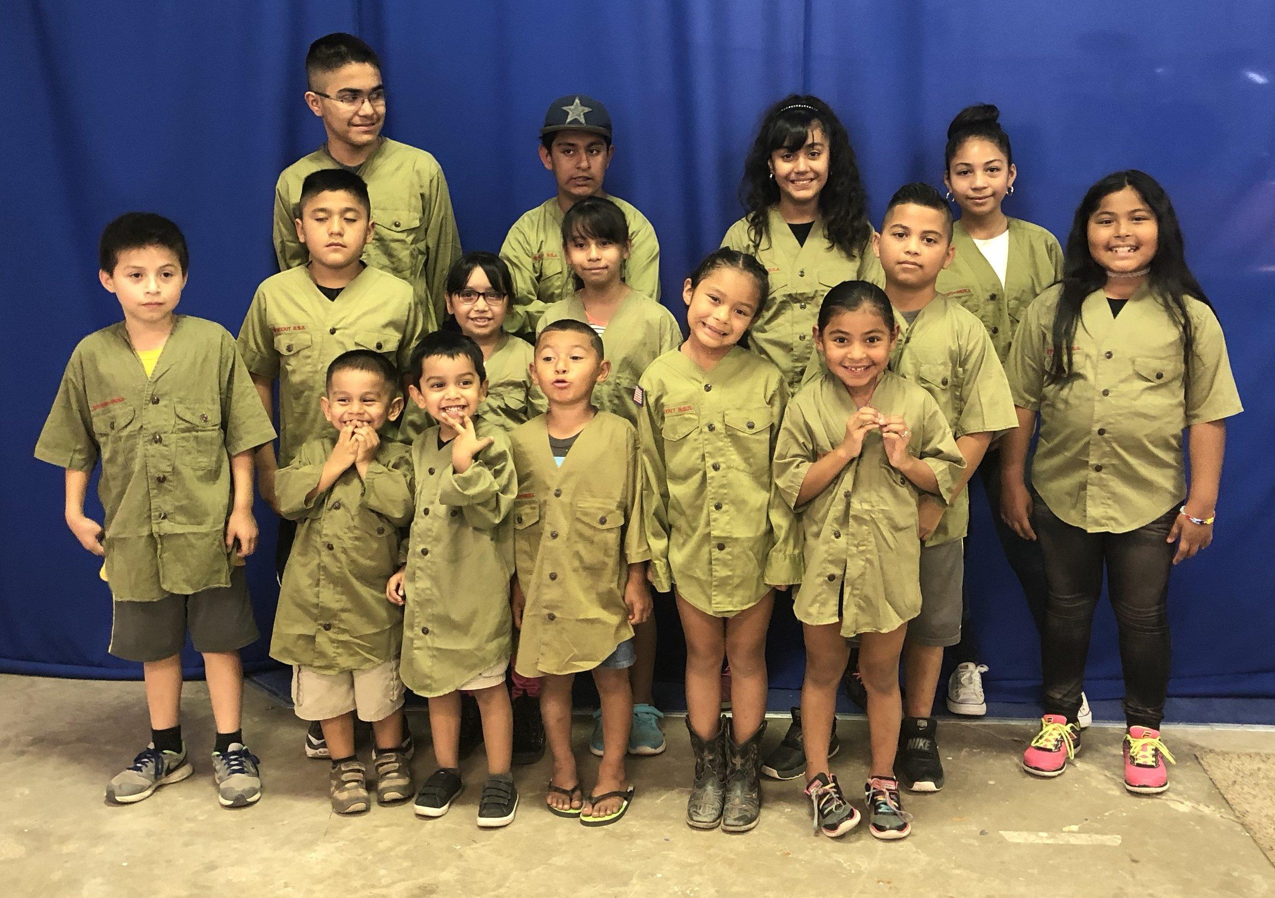 First Cub Scout Meeting, First Uniform.jpg
