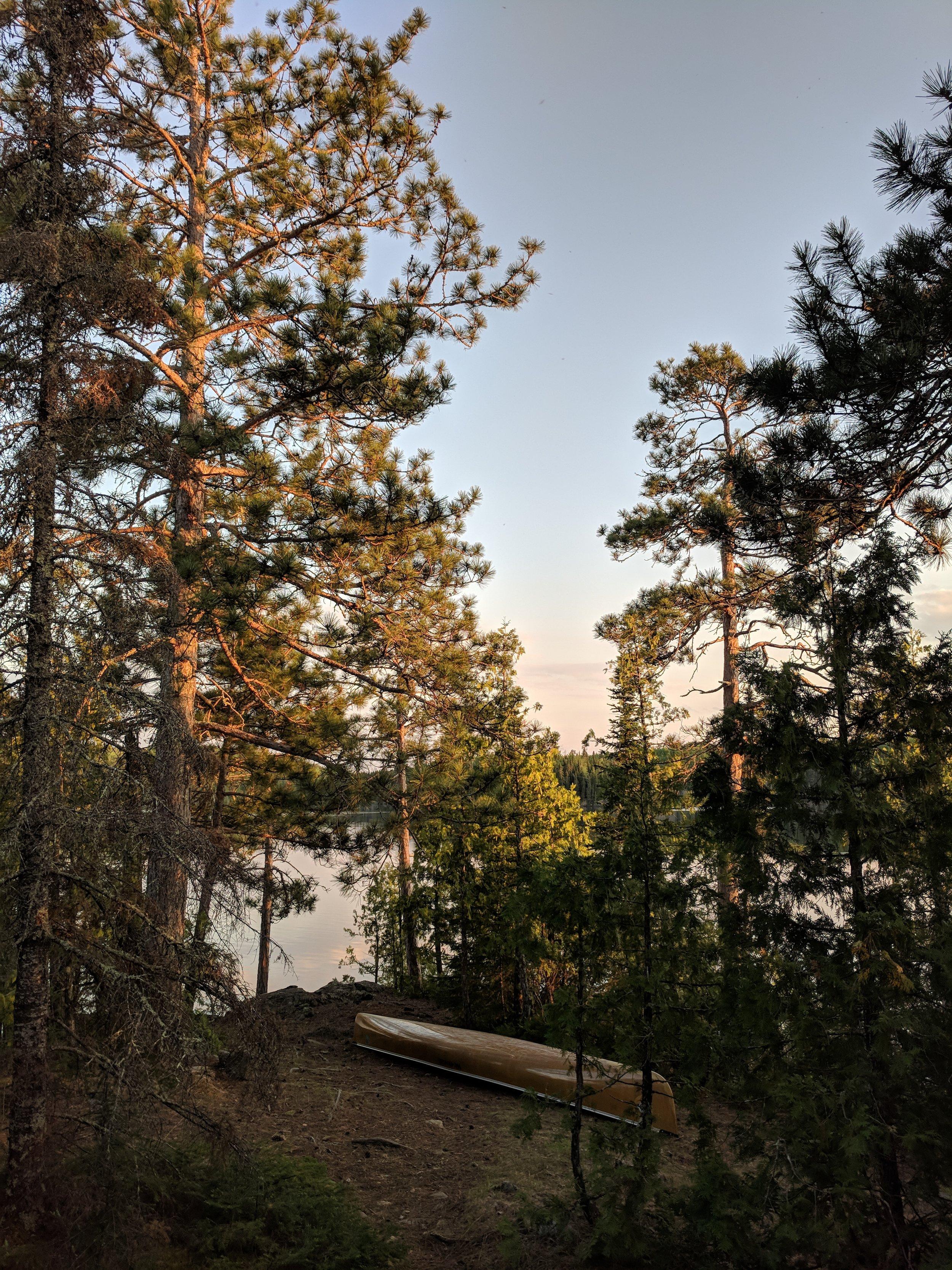 Jasper Lake campsite.jpg