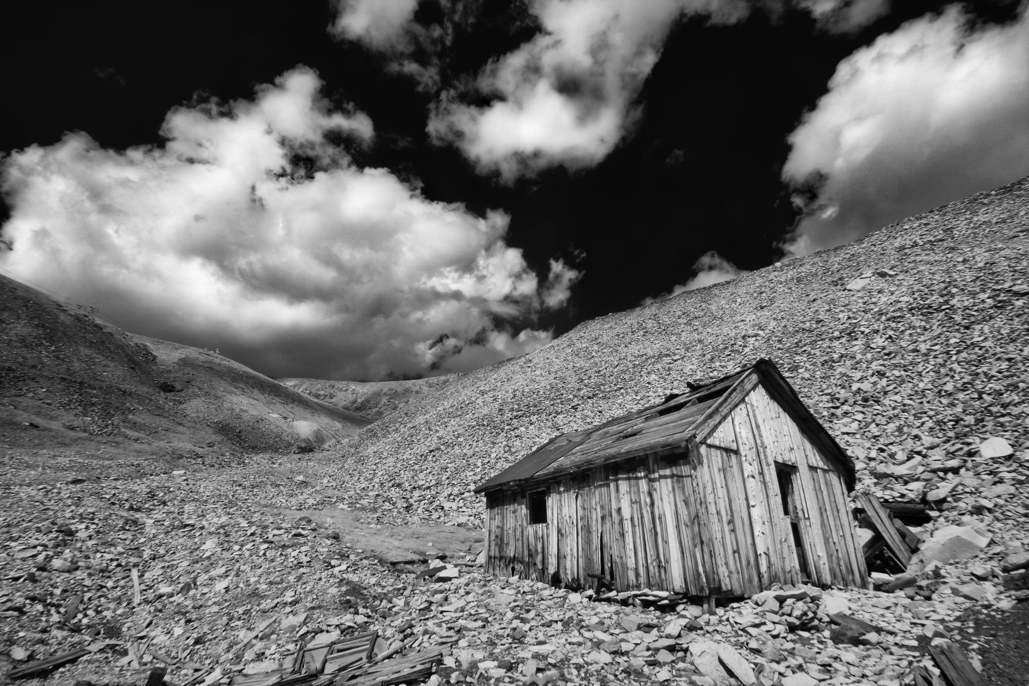 Derelict Mining Cabin