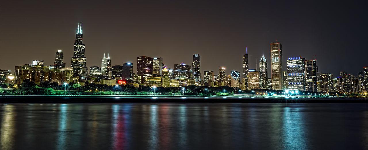 Chicago skyline/Wikimedia Commons