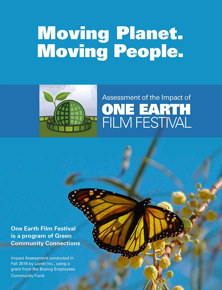 Cover of 5-year impact brochure.