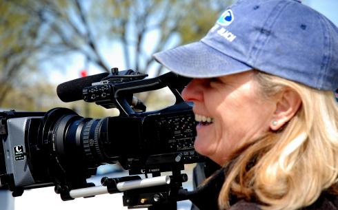 Filmmaker Catherine Zimmerman