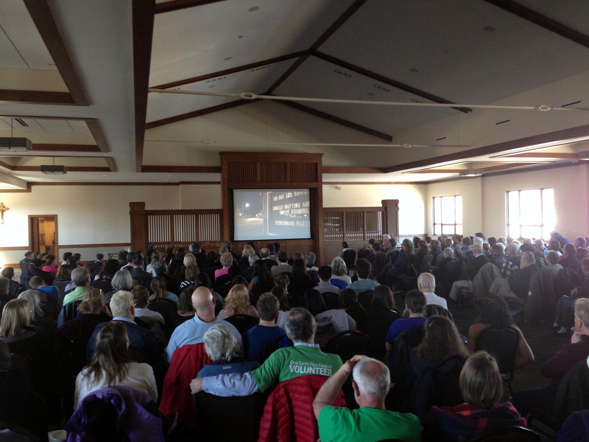 Screening at St.Giles Church