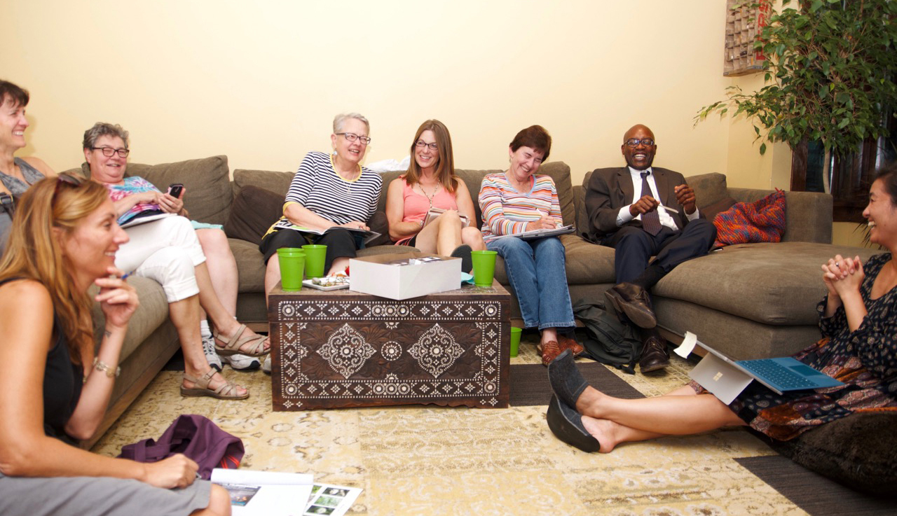 Group meeting.