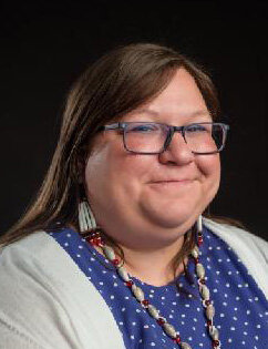 Heather Miller of the Wyandotte Nation.
