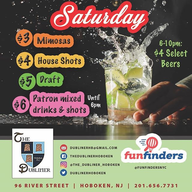 Saturday is for THE... PEOPLE LMAO!!! No discrimination @the_dubliner_hoboken we have the best specials in town and 3 floors of fun. We got Beer Pong and Corn Hole on the second floor, great food, great times. Come see for yourself. #dublinerisgreatagain #saturday #hoboken