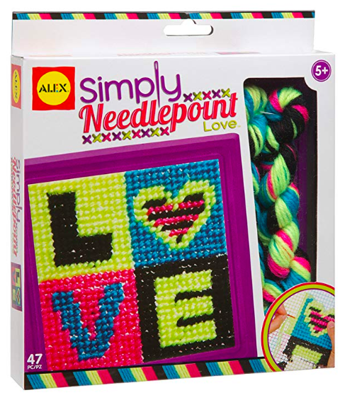 Needlepoint kit for kids