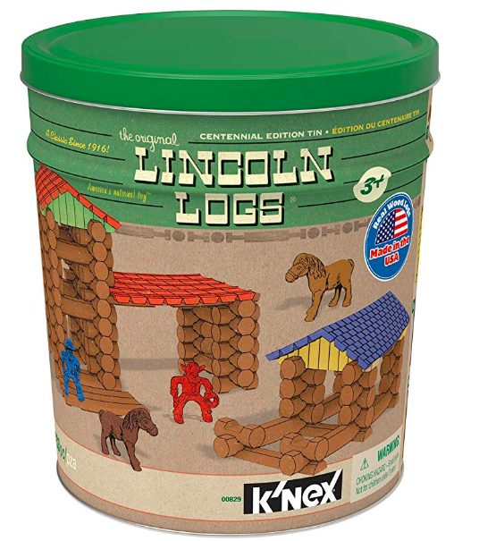 Lincoln logs kids gift ideas
