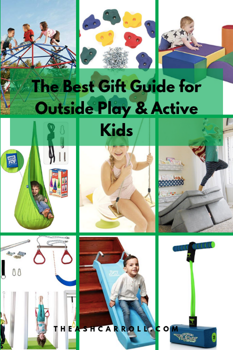 The Best Gift Guide for Outside Play & Active Kids