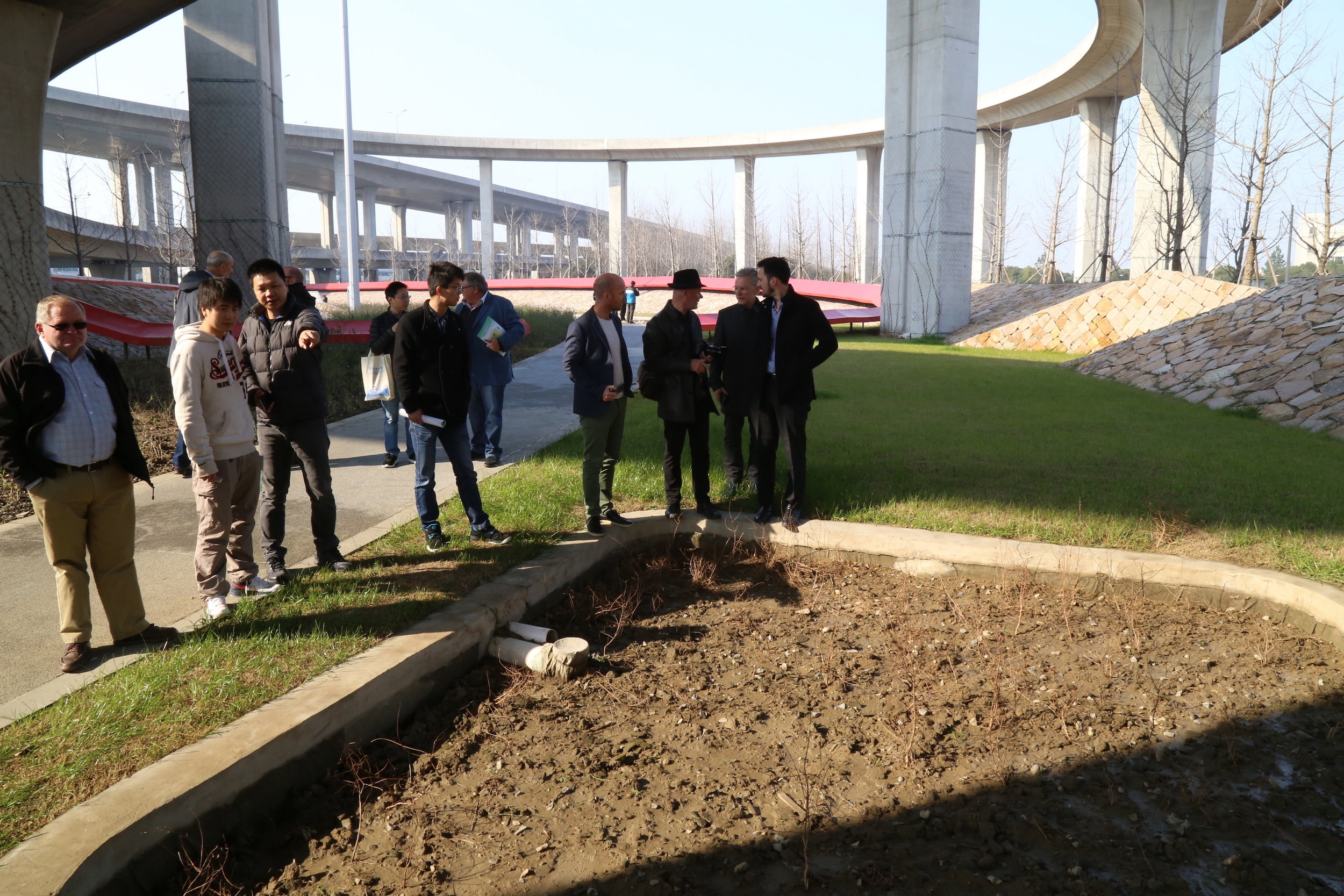 """Day Two Site Visit -iPD's project """" Kunshan RingRoad """""""