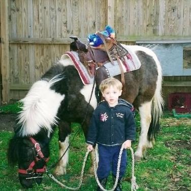 Matt and Cisco the pony