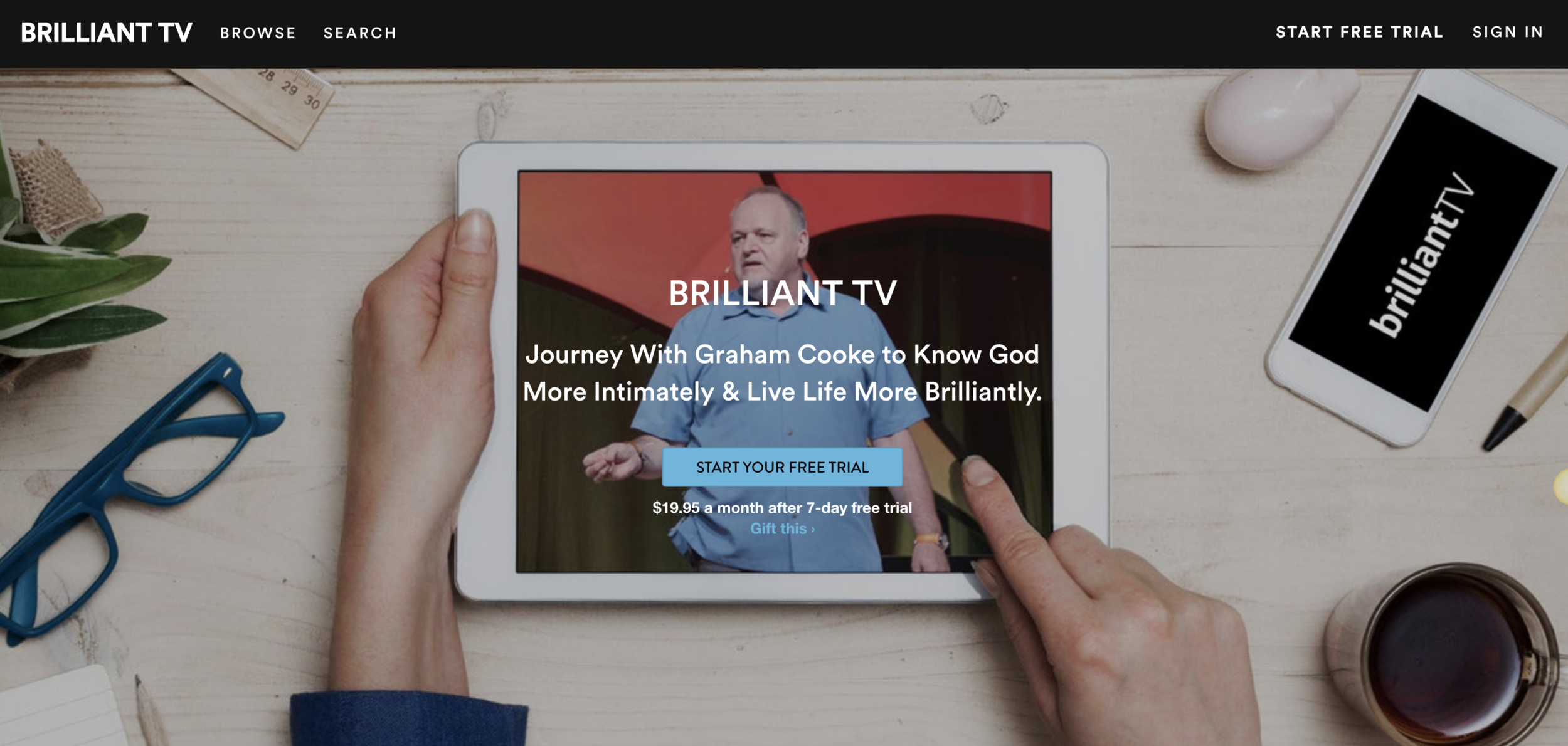 <b>Brilliant TV</b><br>A Learning Community