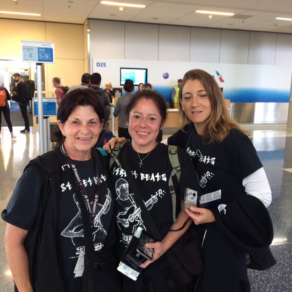 For real...now we are going to ROMA!!!—traveling to Dallas Love Field with Melanie Medina and Christine Logan from Dallas Love Field (DAL).