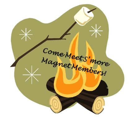 Join us for a fun night of members-only campfire get-together! S'mores supplies will be provided - all you need to do is bring yourself and be ready to have s'more fun getting to know other Magnet members!