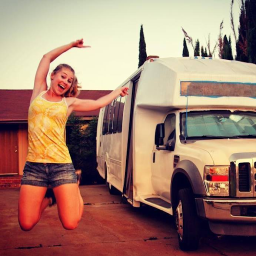 """Kim Knabel is a member of LATCH, spending her weekends with DIY projects and retrofitting her """"Scuttlebus"""" into a motorhome! Kim loves anything involving water or animals. She was born and raised, in sunny Orlando Florida. In 2009, the University of Southern California attracted Kim to LA, where she earned her B.S. in Environmental Engineering and Environmental Science. Going on to pursue her Masters in Urban Planning, she focused on sustainability, particularly through alternative housing. Kim loves discussing tools and sharing what she's learned with fellow DIY enthusiasts!"""