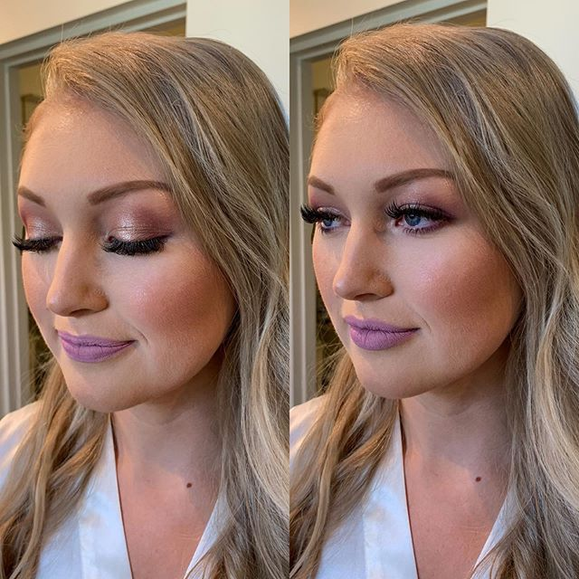 Today's stunning @fraserriverlodge_weddings bride 💕💕Makeup by Shayla, Hair by Sydney . . . . #rosequartzbeauty #wakeupandmakeup #langley #langleymakeup #motd #makeupinspo #vancouvermakeup #liveglam #beauty #beautyblogger #weddingmakeup #professionalmakeupartist #engagement #weddingmakeup #makeuponfleek #pnw #theknot #realweddings #weddingwire #featuremuas #makeupartistsworldwide #beatthatface #lovemyjob #glamsquad #vancitymakeup #hair #bridalhair #behindthechair #rosequartzbride