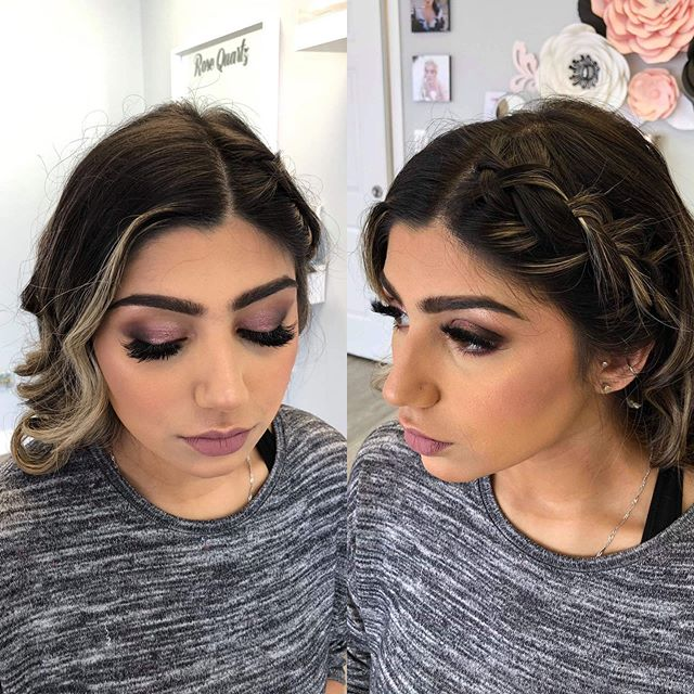 Just loving something other than the neutral tones lately 😍 Makeup by Shayla, Hair by Emily . . . . #rosequartzbeauty #wakeupandmakeup #langley #langleymakeup #motd #makeupinspo #vancouvermakeup #liveglam #beauty #beautyblogger #weddingmakeup #professionalmakeupartist #engagement #weddingmakeup #makeuponfleek #pnw #theknot #realweddings #weddingwire #featuremuas #makeupartistsworldwide #beatthatface #lovemyjob #glamsquad #vancitymakeup #hair #bridalhair #behindthechair #rosequartzbride