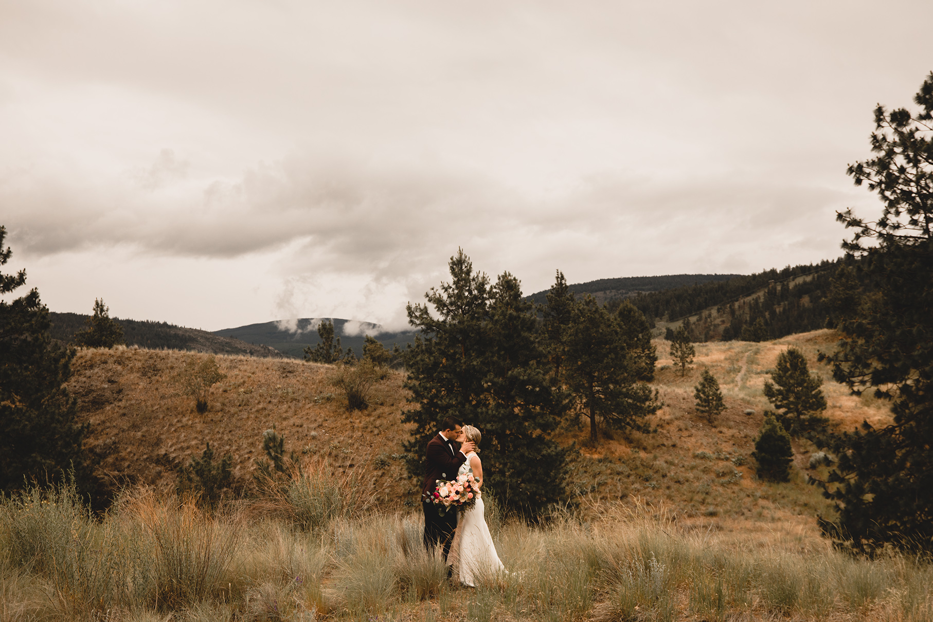 Alex + Charisse - Poplar Grove Winery, Okanagan BC Wedding Photography