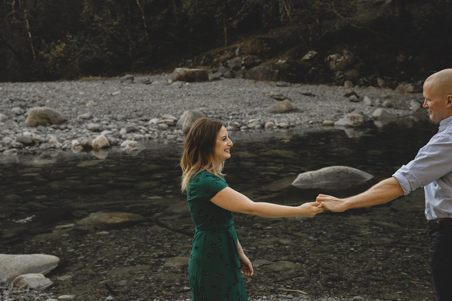 Alouette River Engagement