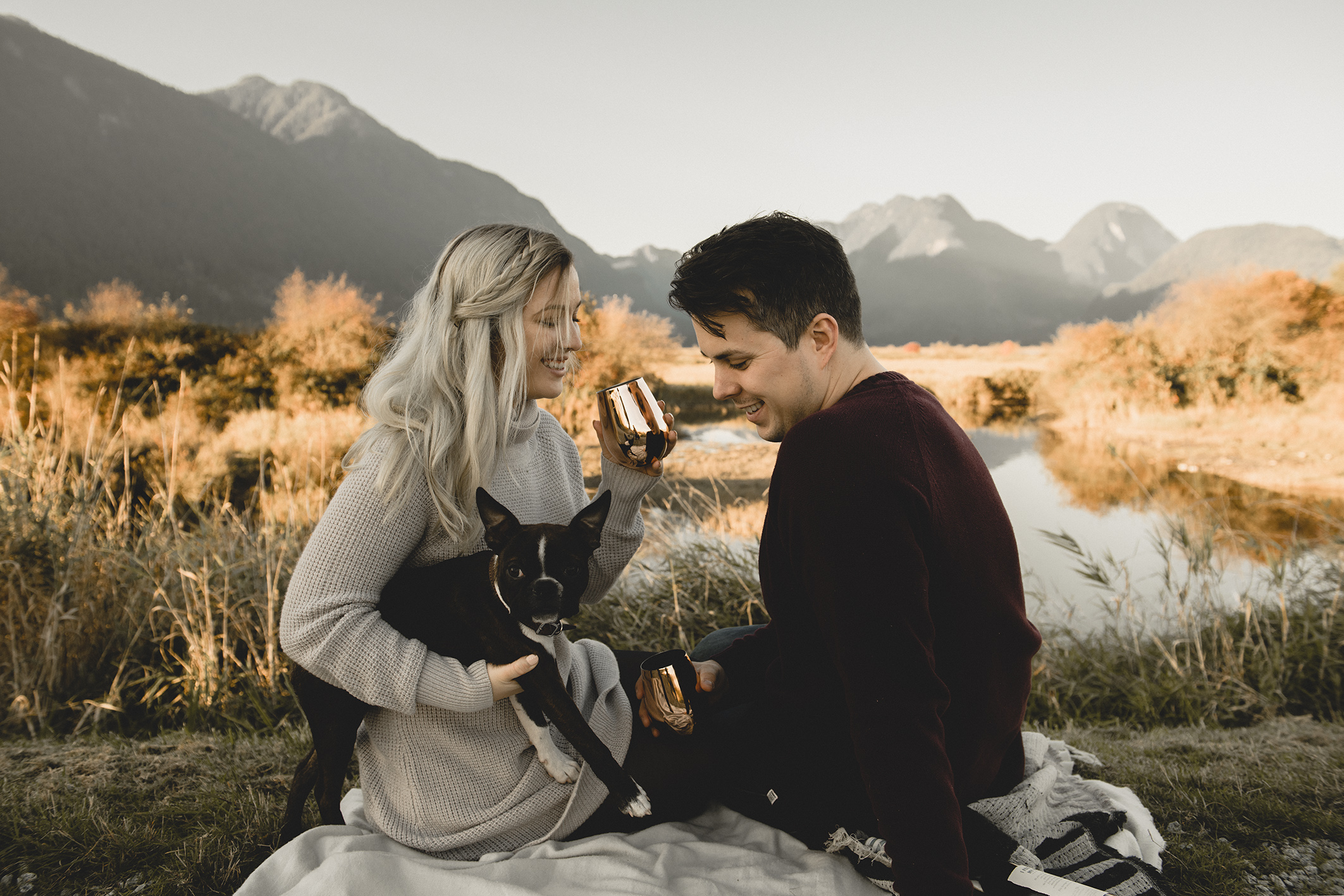 Pitt Lake Engagement Photographer
