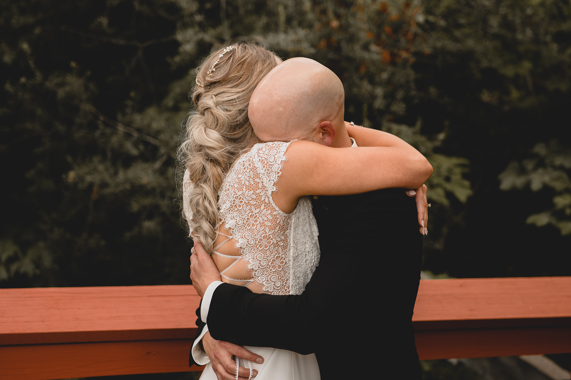 Brentwood Bay Restort Wedding