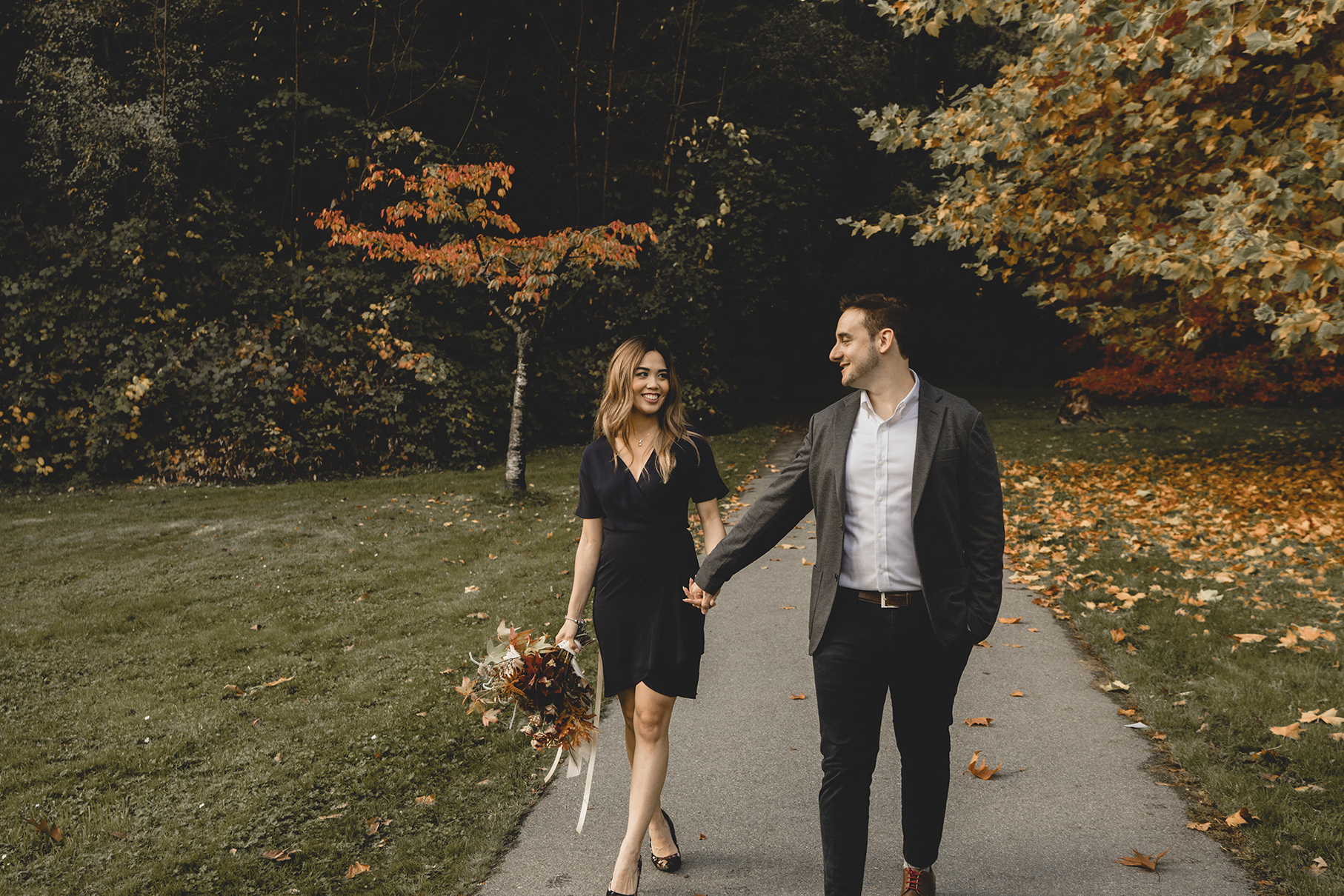 Brent + Ivonne - Stanley Park, Vancouver Engagement Photography