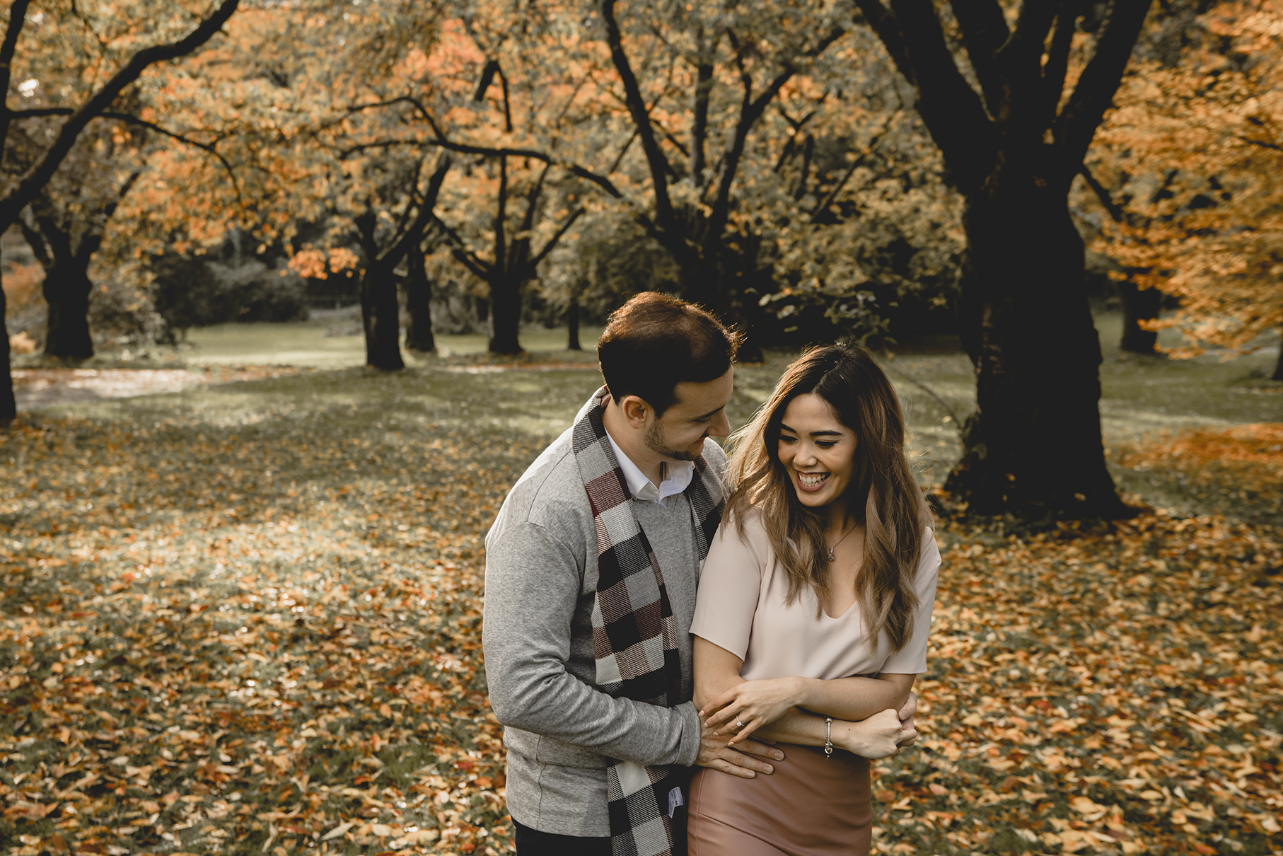 Vancouver Fall Engagement