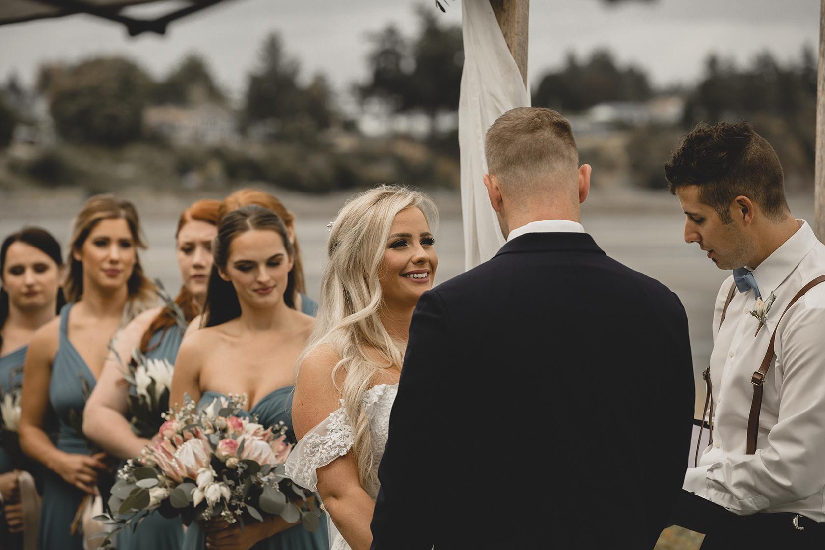 Beach Club Parksville Wedding