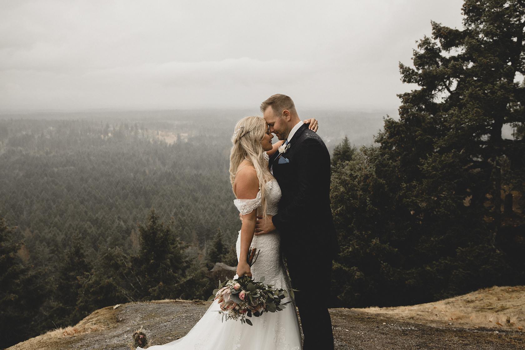 Little Mountain Parksville Wedding