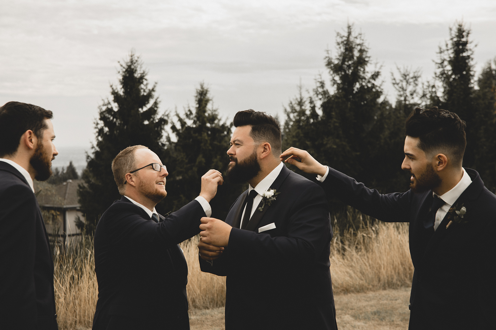 Wedding Photography Westwood Plateau Golf Course