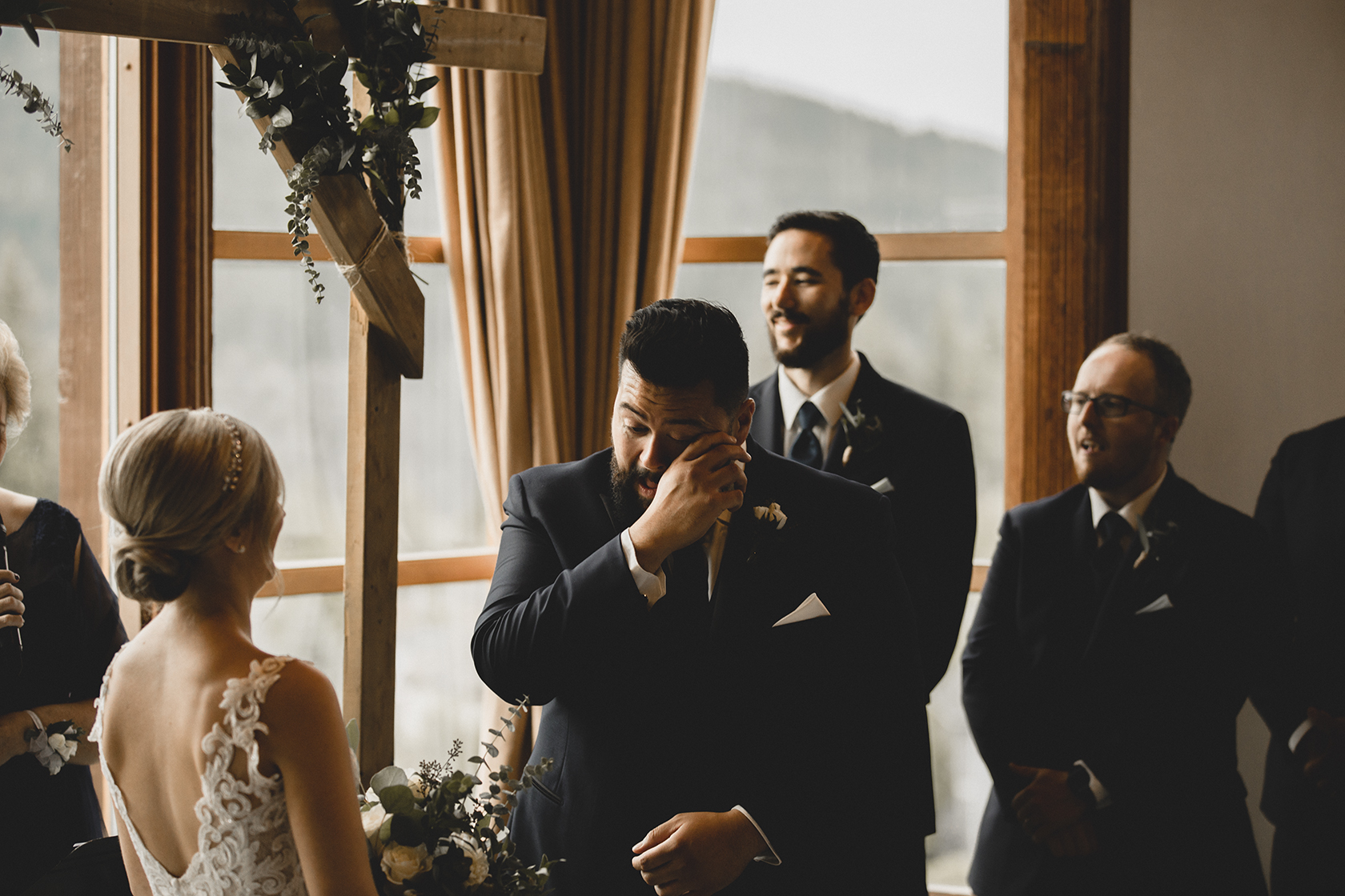 Westwood Plateau Golf Course Wedding