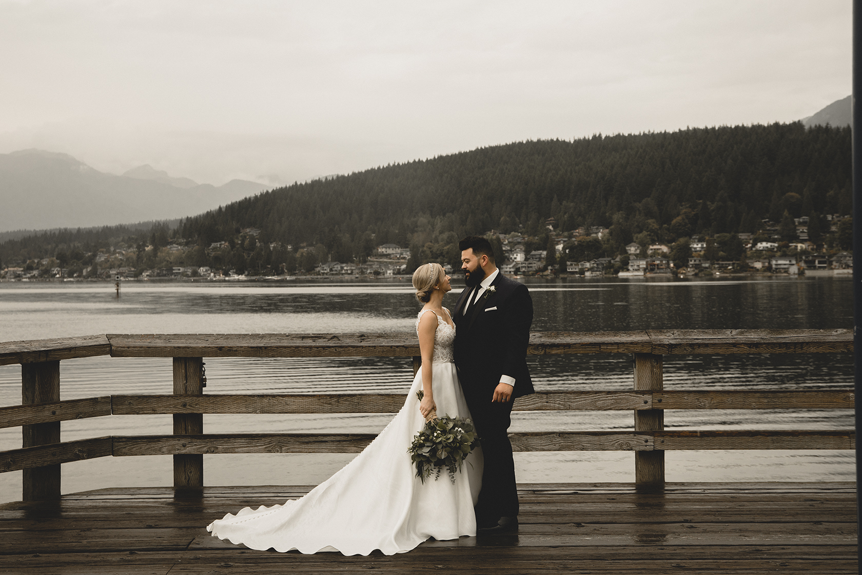 Rocky Point Park Wedding