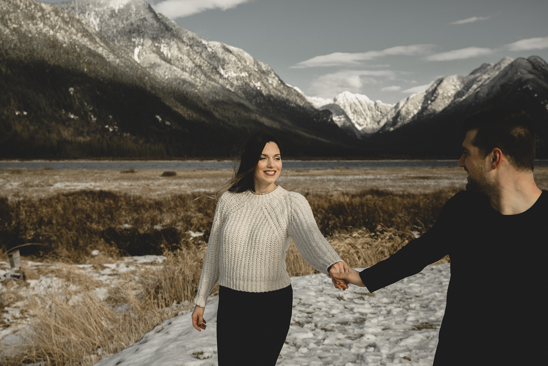 Engagement Photography Pitt Lake