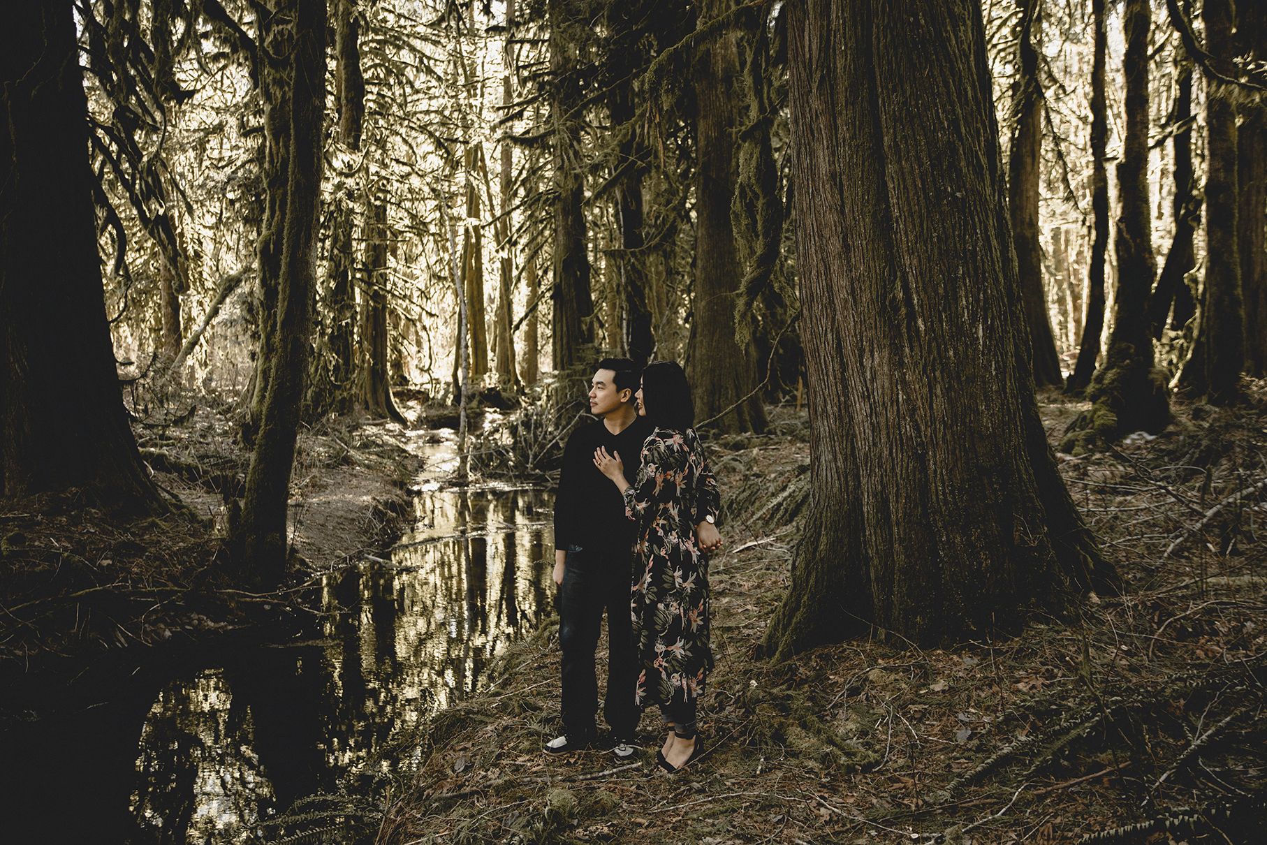 Paradise Valley Engagement Squamish