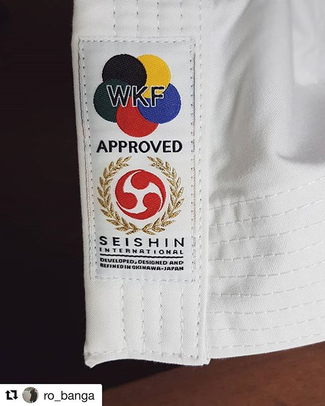 Another #seishin Gi finds a home! Train hard Ro! #Repost @ro_banga ・・・ Super happy with this new addition to my training!!!! Thanks @seishinaustralia for this exquisite gi! Time to put some blood, sweat and tears to it 😉🖒💪