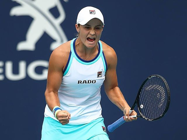 Ash Barty wins the Miami masters for the biggest title of her career! She now moves to 9 in the world! See her in Brisbane next month during the Fed Cup semi-final. Tickets still available through our website! #goaussies #wethepeopletours