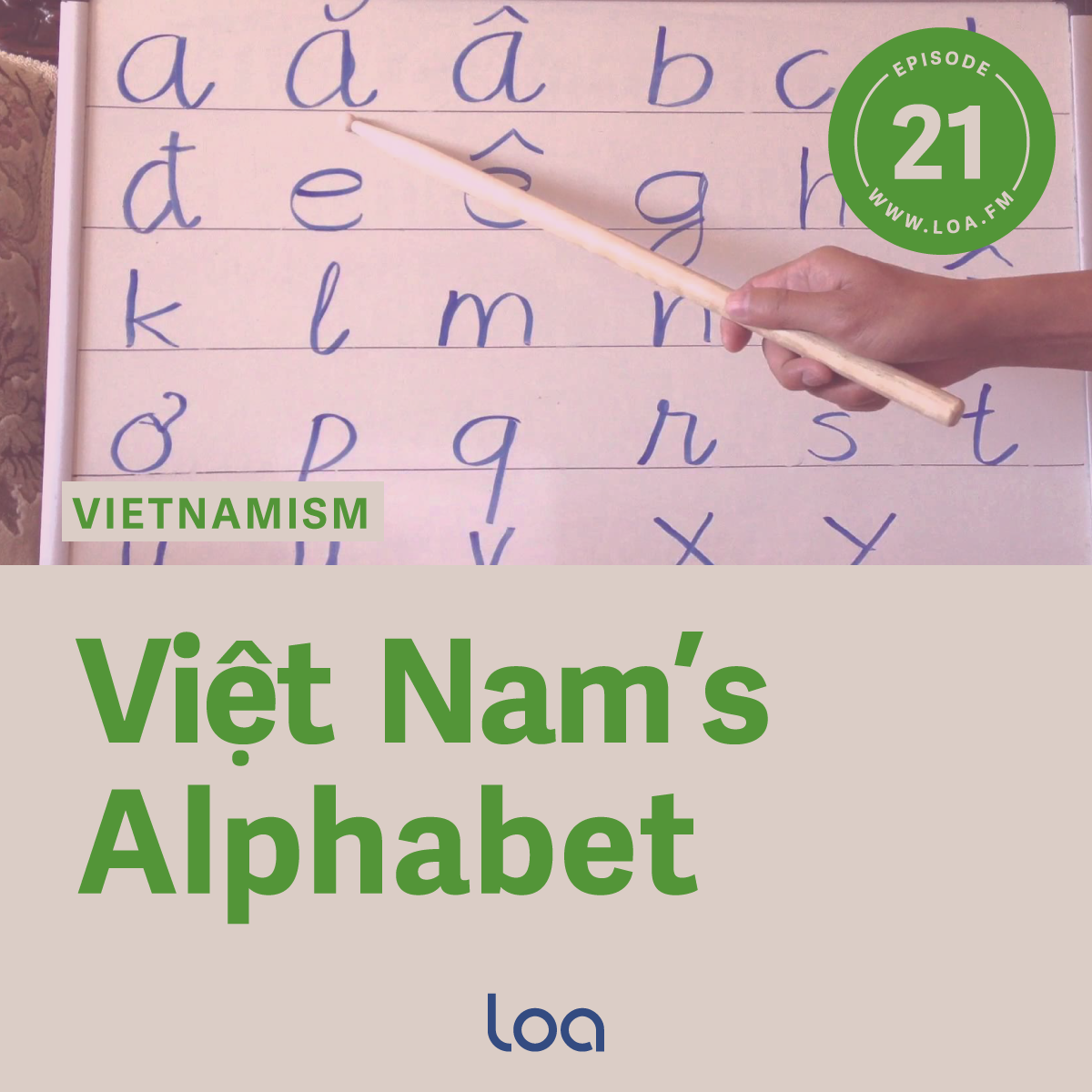 Việt Nam S Alphabet Odd Man Out Loa