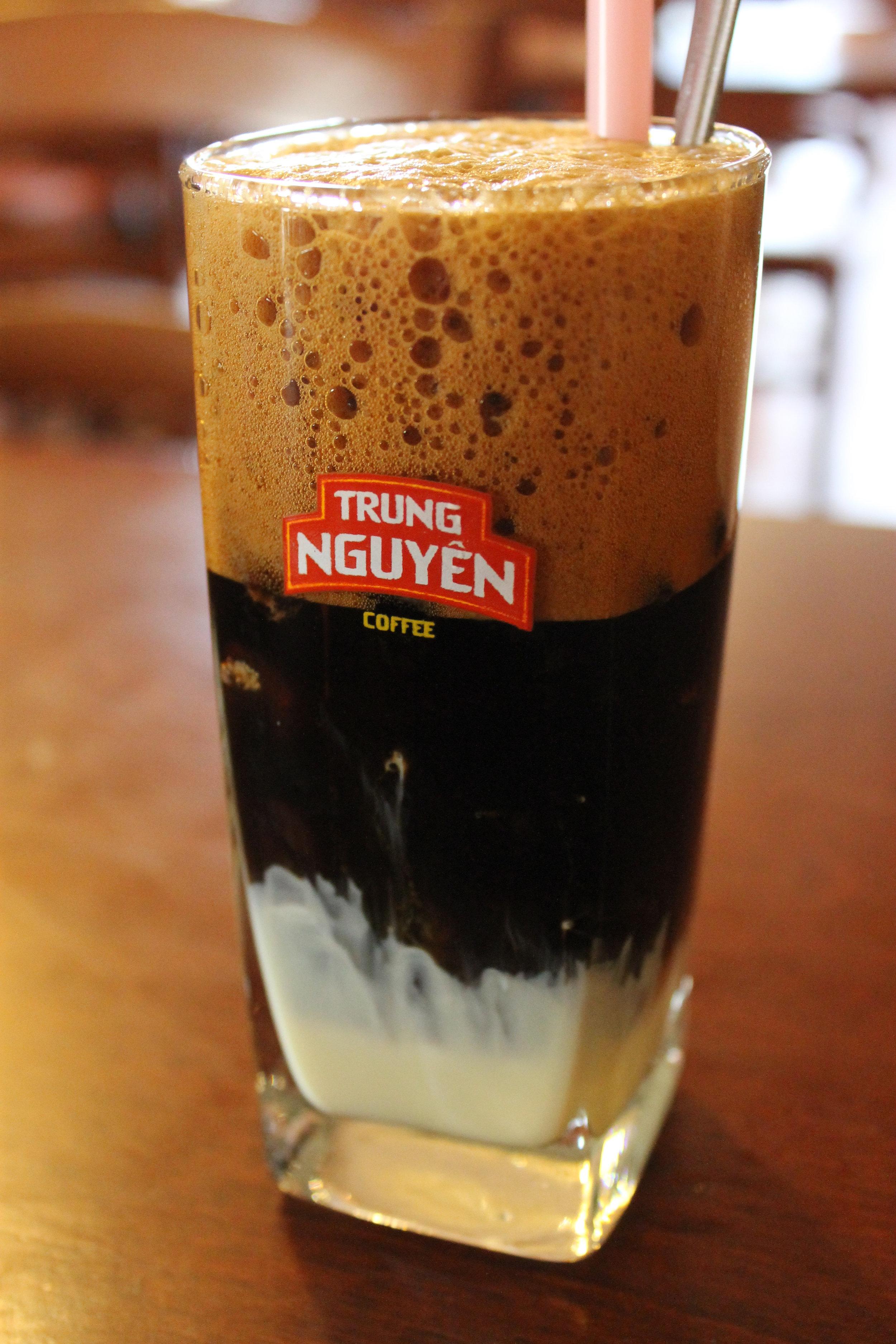 Trung Nguyen Coffee. (Photo: Loa/ Giang Nguyễn )