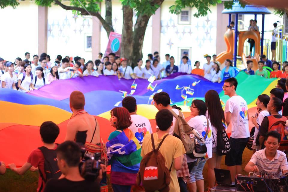 Việt Pride 2014. (Photo courtesy: Nguyễn Thanh Tâm)
