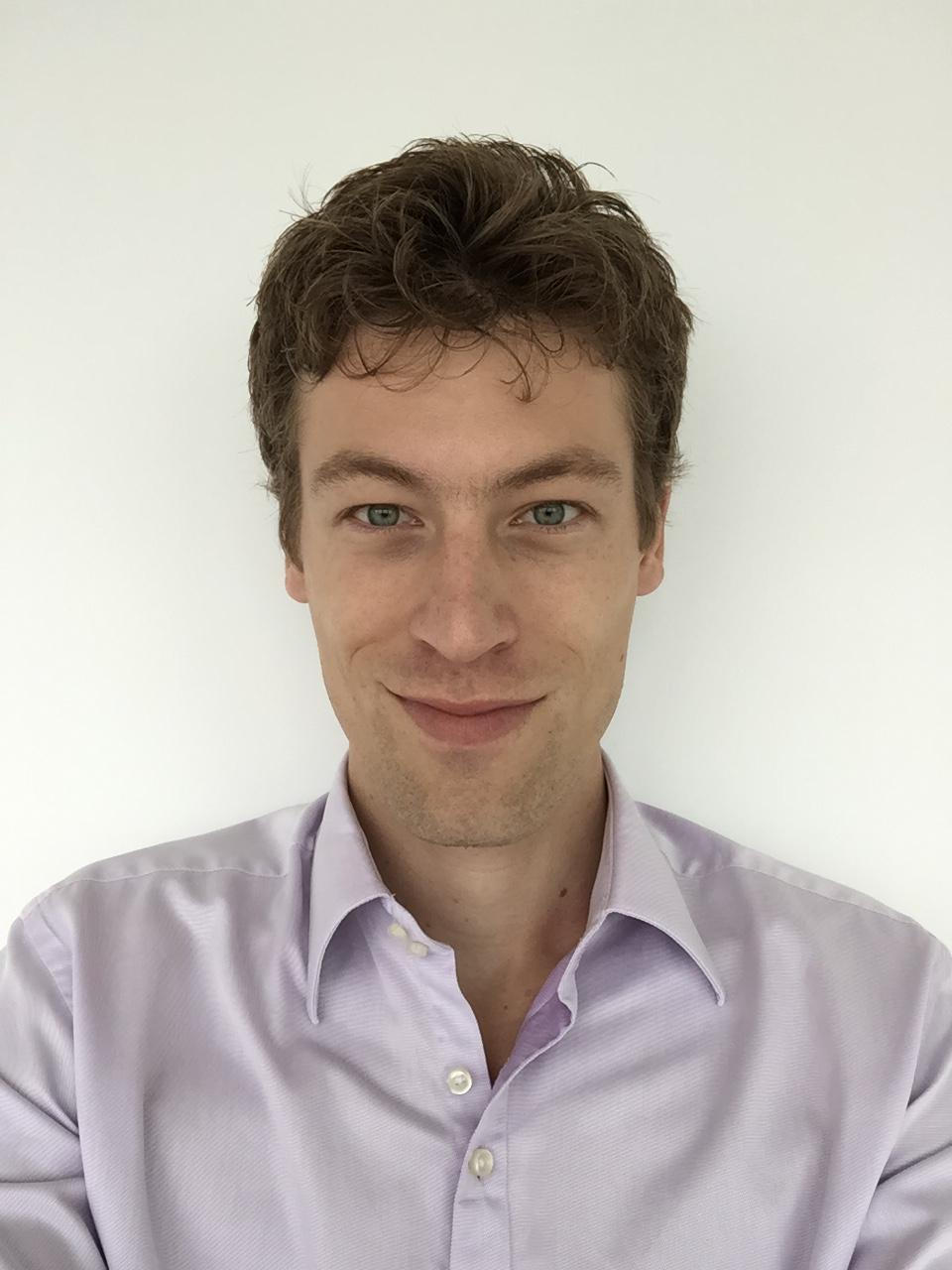 Netherlands Embassy Policy Officer Jasper van Mastrigt