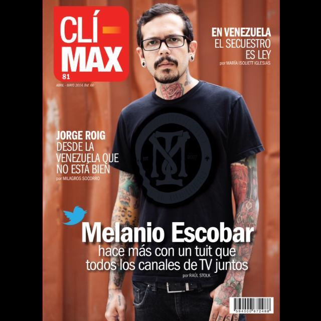 Melanio Escobar on the cover of  ClíMax Magazine . (Photo: Facebook/ Melanio Escobar )