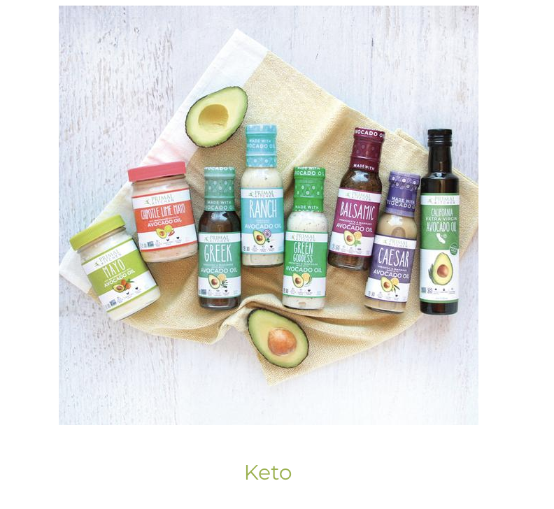 click to purchase Primal Kitchen Products  Chipolte Lime Mayo, Caesar dressing & Avo oil are my favs!