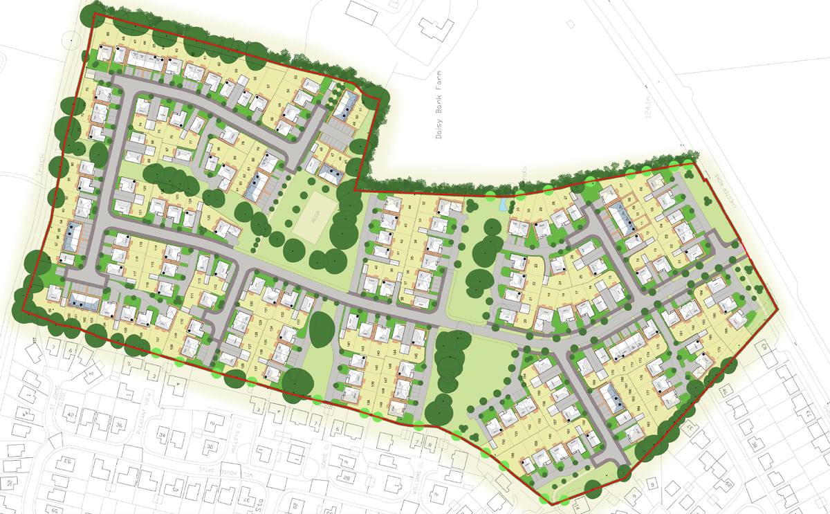 Redrow revised plan - submitted February 2017