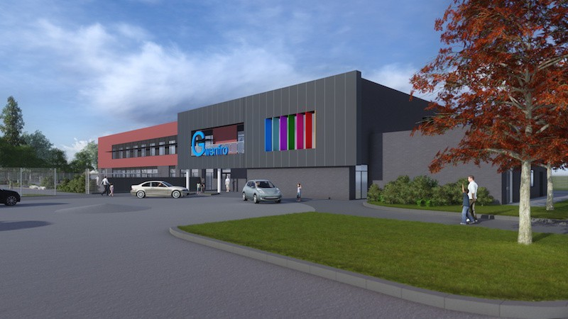 Artists impression of a new Primary school in Wrexham - could be similar to what we can expect on Abbots Lane?