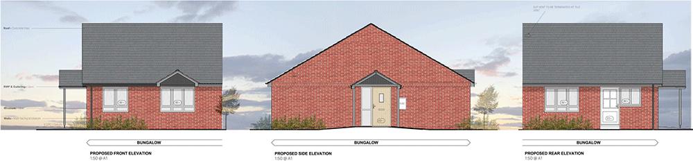 Accessible bungalow design