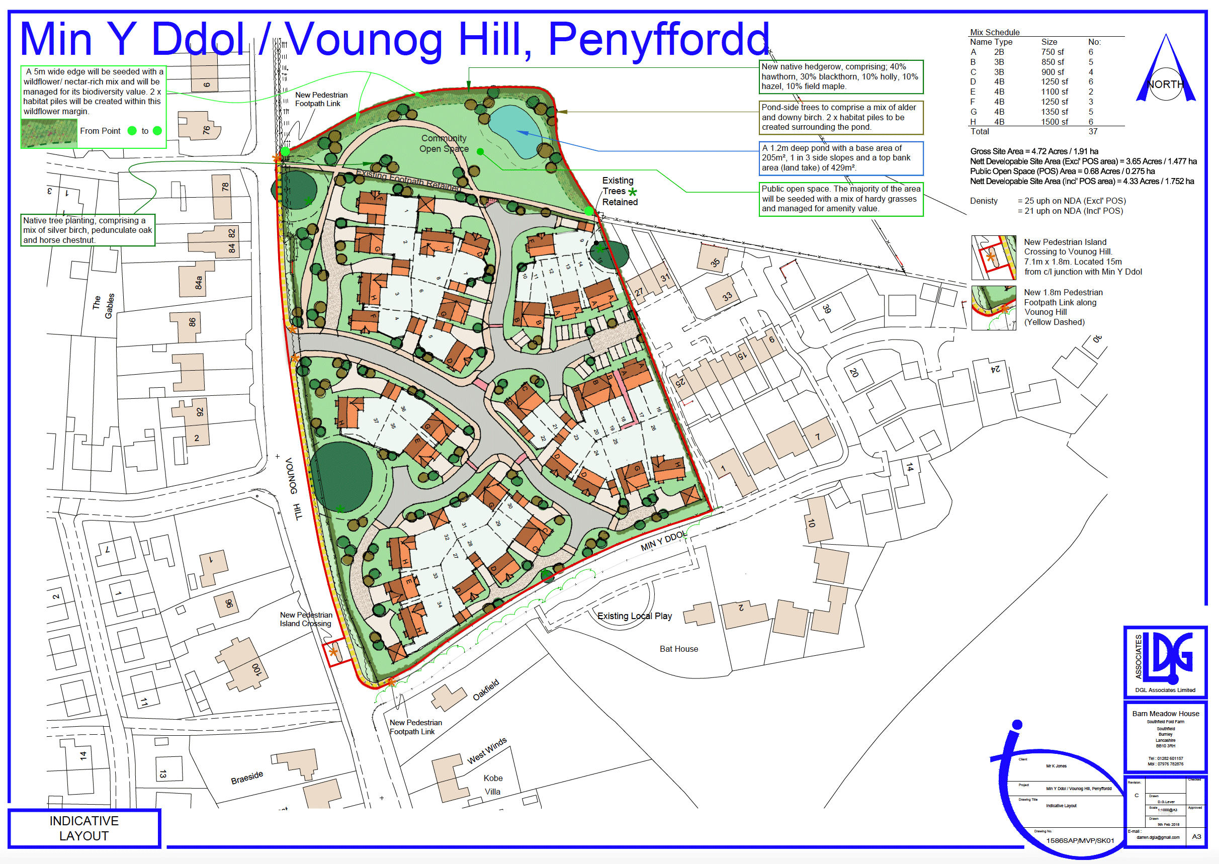 The proposed layout - click for a larger image