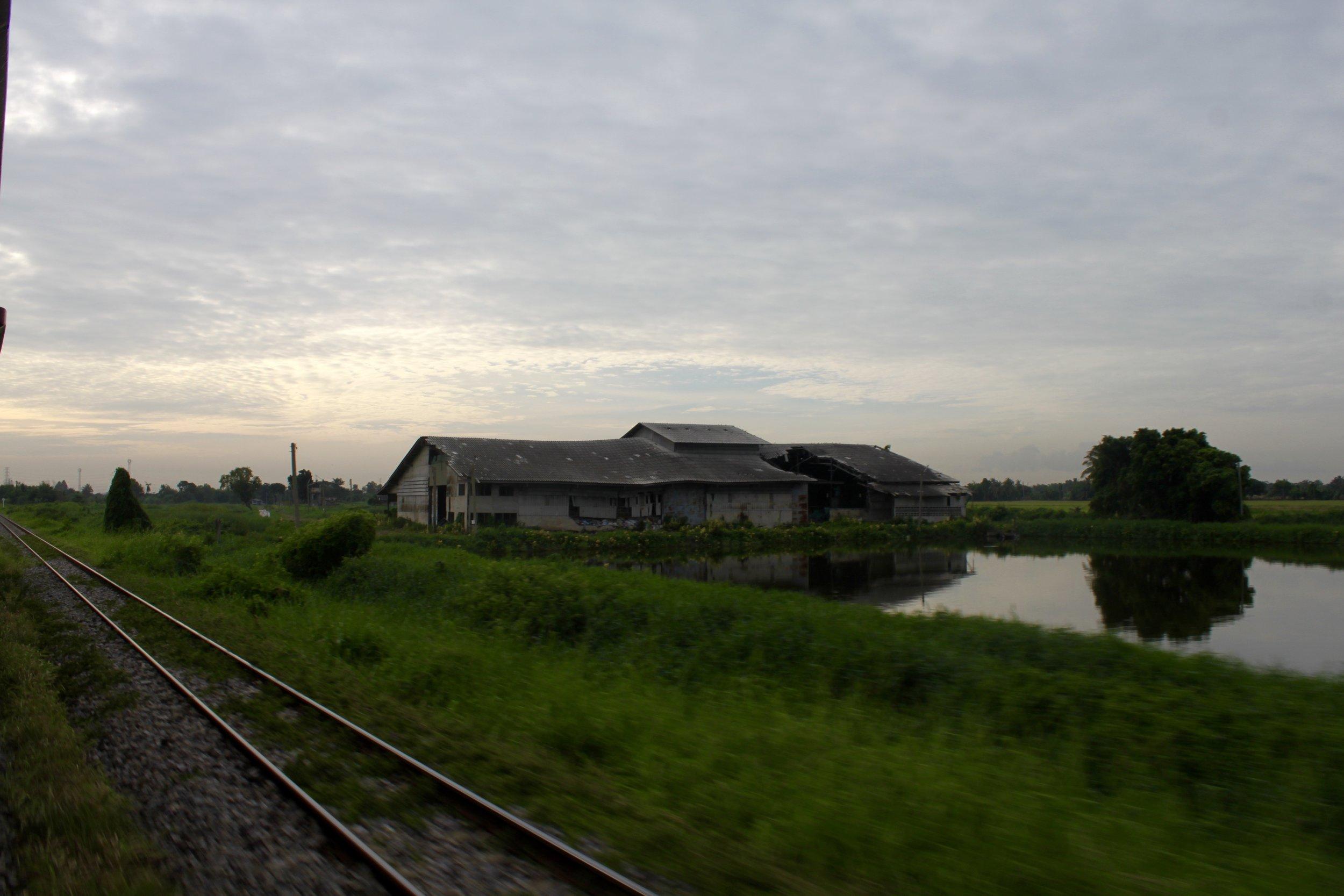 Train Views from Bangkok to Cambodia