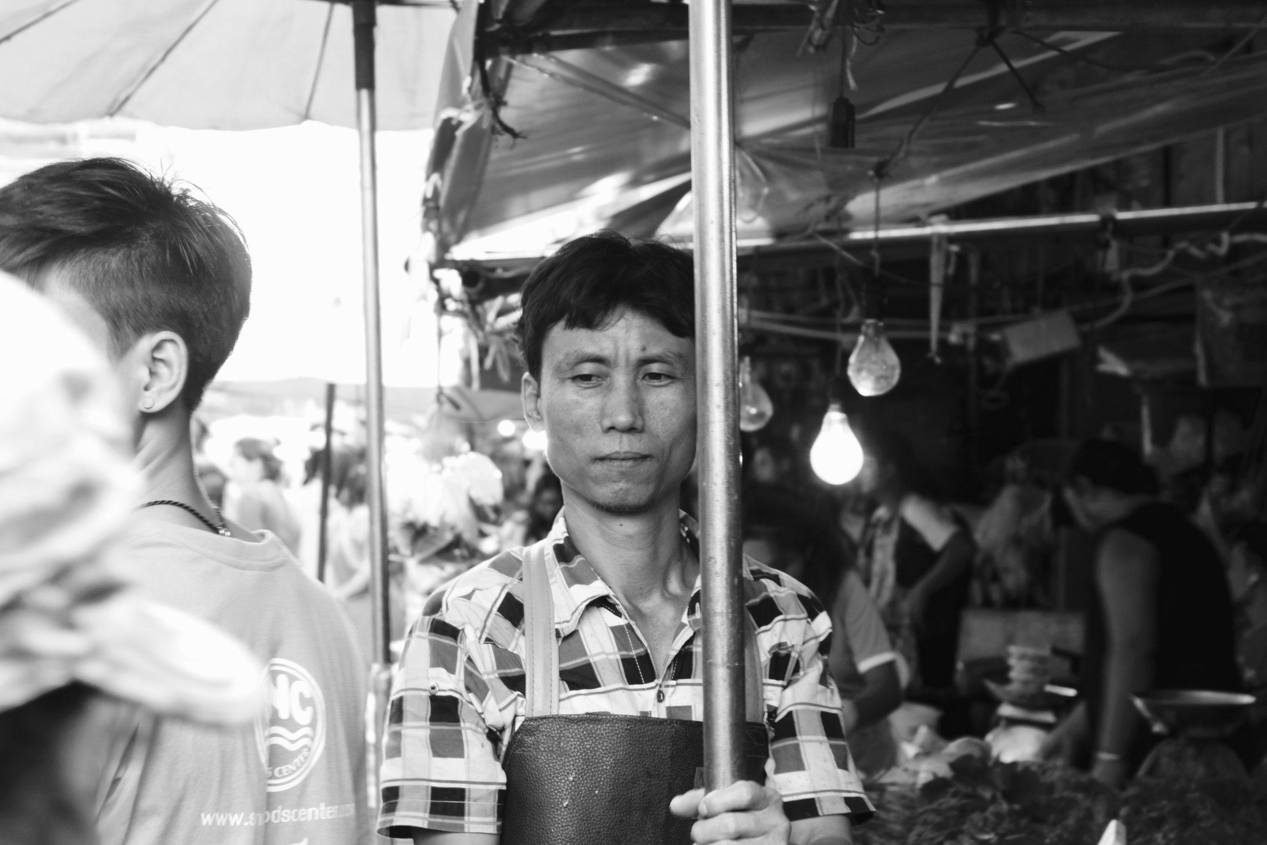 Work,  Khlong Toei Fresh Market